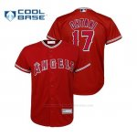 Camiseta Beisbol Nino Los Angeles Angels Shohei Ohtani Cool Base Replica Alternato Rojo