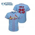 Camiseta Beisbol Nino St. Louis Cardinals Dexter Fowler Cool Base Majestic Alternato Horizon 2019 Azul