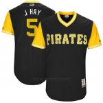 Camiseta Beisbol Hombre Pittsburgh Pirates 2017 Little League World Series Josh Harrison Negro