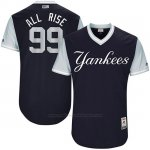 Camiseta Beisbol Hombre New York Yankees 2017 Little League World Series Aaron Judge Azul