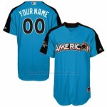 Camiseta Beisbol Hombre American League 2017 MLB All-Star Game Personalizada Azul