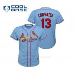Camiseta Beisbol Nino St. Louis Cardinals Matt Carpenter Cool Base Majestic Alternato Horizon 2019 Azul