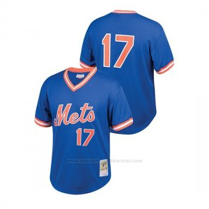 Camiseta Beisbol Nino New York Mets Keith Hernandez Cooperstown Collection Mesh Batting Practice Azul