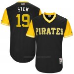 Camiseta Beisbol Hombre Pittsburgh Pirates 2017 Little League World Series Chris Stewart Negro