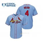 Camiseta Beisbol Hombre Cardinals Yadier Molina Cool Base Majestic Alternato Alternato Horizon Blue