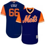 Camiseta Beisbol Hombre New York Mets 2017 Little League World Series Josh Edgin Royal