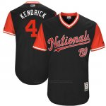 Camiseta Beisbol Hombre Washington Nationals 2017 Little League World Series Howie Kendrick Azul