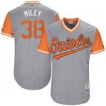 Camiseta Beisbol Hombre Baltimore Orioles 2017 Little League World Series 38 Wade Miley Gris