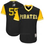 Camiseta Beisbol Hombre Pittsburgh Pirates 2017 Little League World Series Josh Bell Negro