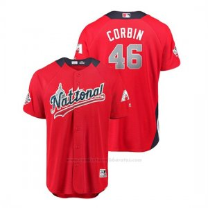 Camiseta Beisbol Hombre All Star Game Diamondbacks Patrick Corbin 2018 1ª Run Derby National LeagueRojo