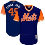 Camiseta Beisbol Hombre New York Mets 2017 Little League World Series Josh Smoker Royal