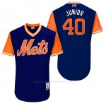 Camiseta Beisbol Hombre New York Mets 2017 Little League World Series Aj Ramos Royal