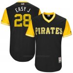 Camiseta Beisbol Hombre Pittsburgh Pirates 2017 Little League World Series John Jaso Negro