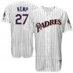Camiseta Beisbol Hombre San Diego Padres San Diego Matt Kemp Blanco Turn Back The Clock