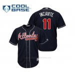 Camiseta Beisbol Hombre Atlanta Braves Ender Inciarte Cool Base Alternato 2019 Azul