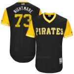 Camiseta Beisbol Hombre Pittsburgh Pirates 2017 Little League World Series Felipe Rivero Negro
