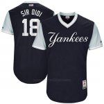 Camiseta Beisbol Hombre New York Yankees 2017 Little League World Series Didi Gregorius Azul