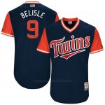 Camiseta Beisbol Hombre Minnesota Twins 2017 Little League World Series Matt Belisle Azul