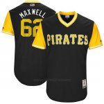 Camiseta Beisbol Hombre Pittsburgh Pirates 2017 Little League World Series Max Moroff Negro