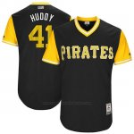 Camiseta Beisbol Hombre Pittsburgh Pirates 2017 Little League World Series Daniel Hudson Negro