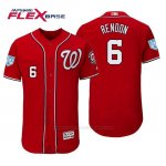 Camiseta Beisbol Hombre Washington Nationals Anthony Rendon Flex Base Entrenamiento de Primavera 2019 Rojo