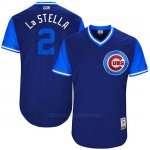 Camiseta Beisbol Hombre Chicago Cubs 2017 Little League World Series 2 Tommy La Stella