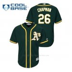 Camiseta Beisbol Hombre Oakland Athletics Matt Chapman Cool Base Alternato Replica Verde