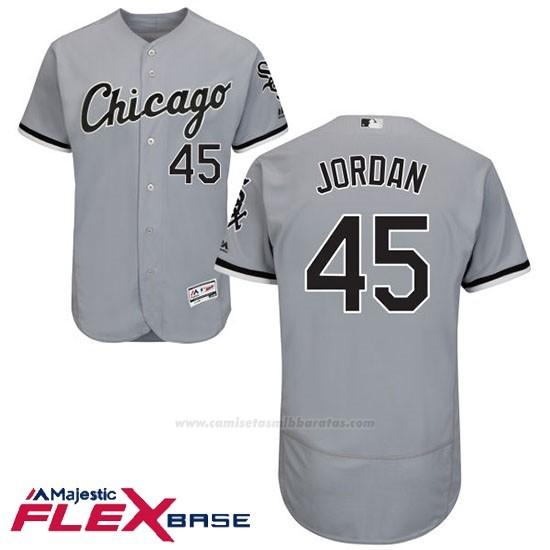 new concept 7d03c 25645 Sox 45 Flex White Chicago Beisbol Gris Base Michael Hombre ...